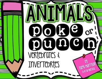 Animals Poke Game! [Vertebrates & Invertebrates]