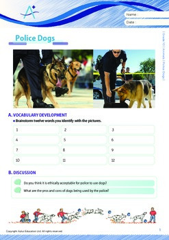 Animals - Police Dogs - Grade 10