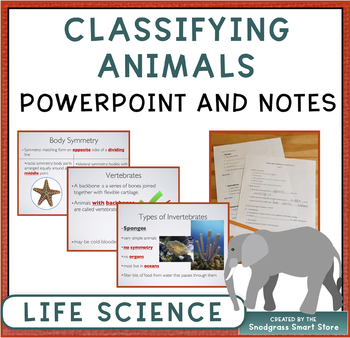 Animal Kingdom Powerpoint and Fill-In Notes