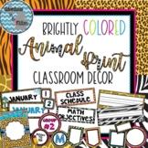 """Back to School"" Animal Print Pack"