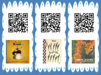 Animals QR Code Read Alouds in Spanish
