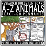 Animals Research Project & Rubric Templates • Teach- Go Pennants™