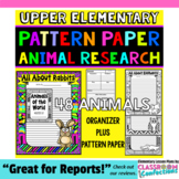 Animal Research: Informational Writing: Expository Writing