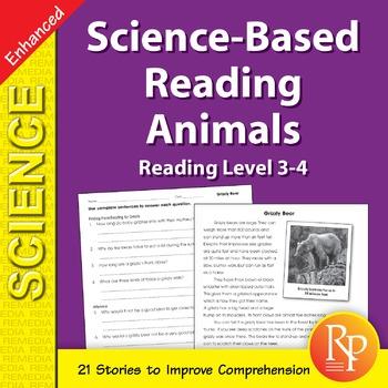Animals: Science-Based Reading - Enhanced