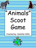 """Animals"" Scoot Game"