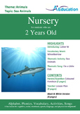 Animals - Sea Animals : Letter W : Wheelbarrow - Nursery (2 years old)