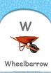 Animals - Sea Animals : Letter W : Wheelbarrow - Nursery (