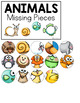 Animals (Set 2) Missing Pieces Task Box | Task Boxes for Special Education