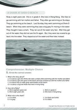 Animals - Sharks: A Shark at Shek-O Beach - Grade 4