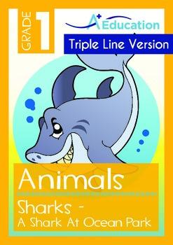 Animals - Sharks (I): A Shark at Ocean Park (with 'Triple-