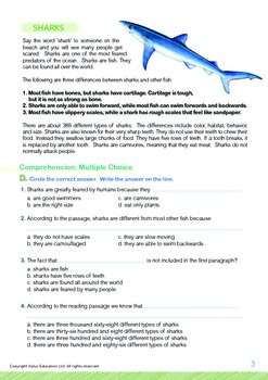 Animals - Sharks (II): Name the Sharks - Grade 5