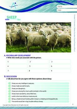 Animals - Sheep Suicides Cause Financial Ruin - Grade 11