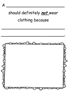 Animals Should Not Wear Clothing Writing