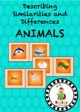 Animals Similarities and Differences Spinning Wheel Semant