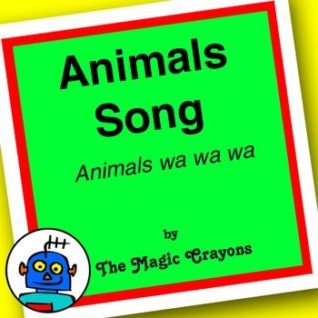 Animals Song (Animals Wa Wa Wa) by The Magic Crayons - MP3