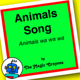Animals Song (Animals Wa Wa Wa) by The Magic Crayons - MP3