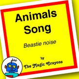 English ESL EFL Song - Animals #1