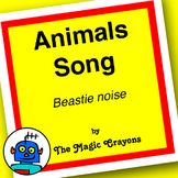 Animals Song (The Beastie Noise) by The Magic Crayons - MP3