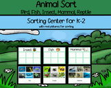 Animals Sort - Bird, Fish, Insect, Mammal, Reptile