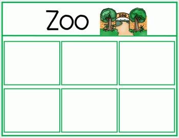 Animals Sort - Farm, Ocean, Pet, Zoo