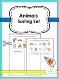 Animals Sorting Set