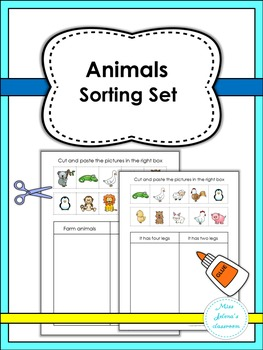 Animals Sorting Set