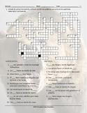 Animals Spanish Crossword Puzzle