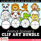Animals Spinners Clip Art Bundle