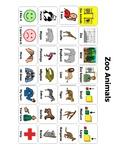 Animals Static Board/ AAC Bundle!!
