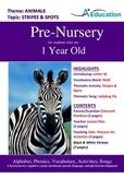 Animals - Stripes & Spots : Letter W : Walk - Pre-Nursery (1 year old)