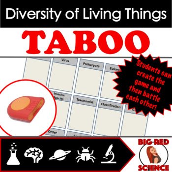 Animals - Structure and Function Taboo Review Game