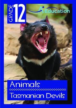 Animals - Tasmanian Devils - Grade 12