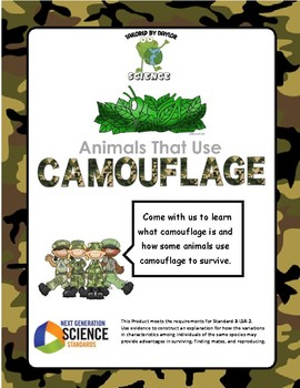 NGSS - Animals That Use Camouflage