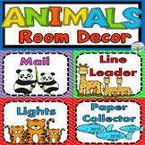 Animal Theme Classroom Decor