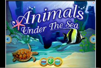 Animals Under The Sea INTERACTIVE VERSION