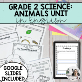 Grade 2: Growth and Changes in Animals Unit (English) PRIN