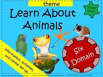 Animals Themed Activities