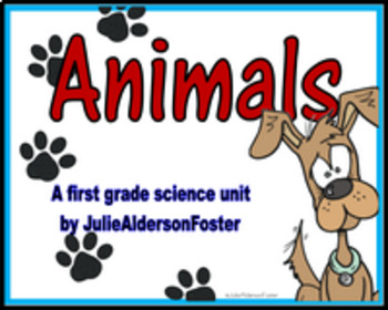 Animals Unit for First Grade Science