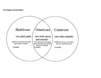 Animals Venn Diagram