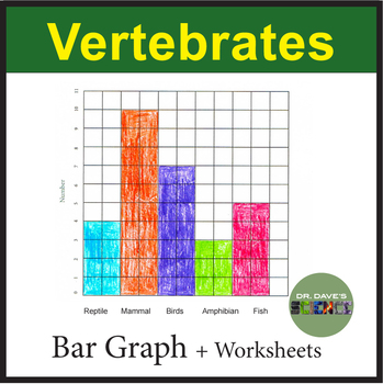 Vertebrate Graphing and Worksheet Packet