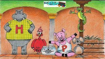 Animals Visit the Diner Unit