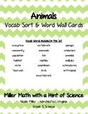 Animals Vocab