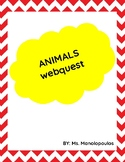 Animals Webquest