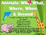 "Animals: Who, What, When, Where & Beyond (a ""unique"" speech unit)"