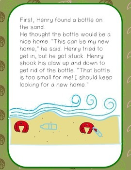 Animals With Shells: Literacy, Science, and Math