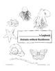 Animals Without Backbones: Using Logbooks