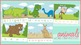 Animals Word Strip Puzzles