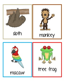 Animals Write the Room Set