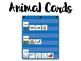Animals and Habitats Cards