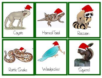 Animals and Habitats Christmas Theme